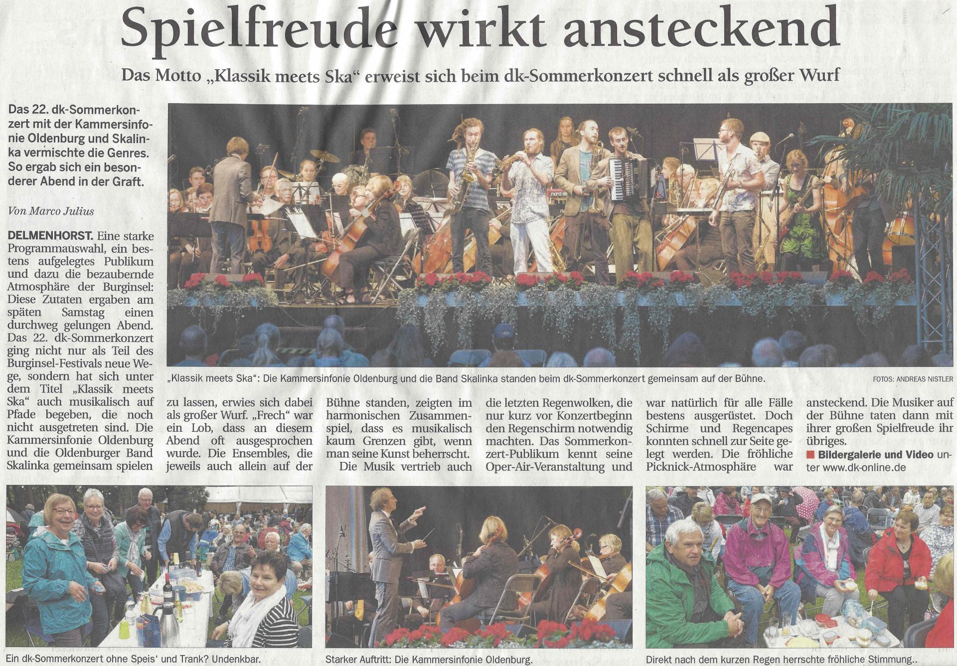 Kammersinfonie Oldenburg | Orchester